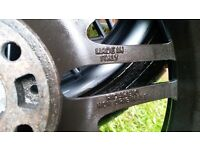 """BMW Wheels and tyres 18"""" alloys with very good tyres. Some minor scuffs to rims but nothing serious."""