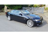 2007 (57 plate) BMW 325i SE hard top convertible (6 speed auto)