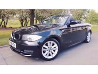 BMW 1 Series 2.0 120d SE 2dr FULL SERVICE HISTORY + 1 OWNER +FULL LEATHER HEATED INTERIOR
