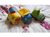vtech toot toot car bundle 3