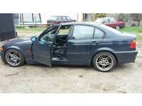 BMW E46 325 M-Sport polish petrol PL