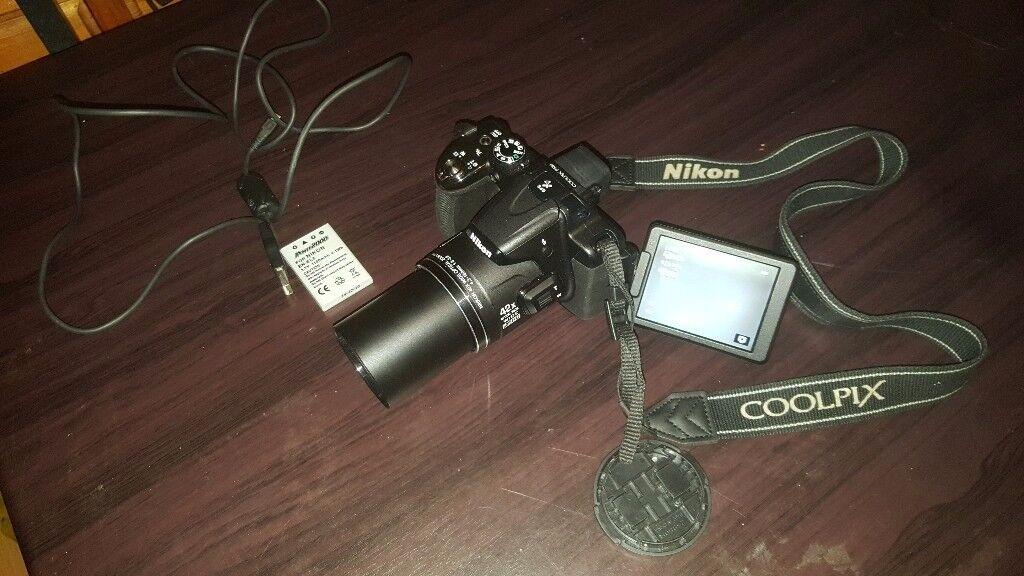 Nikon coolpix P520 bridge camera