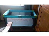 Hauck Travel Cot Bed