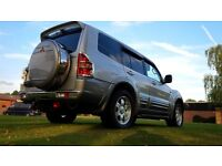 Mitsubishi Pajero/Shogun, Horse Box towing (perfect for safe & legal towing). £1888 ono