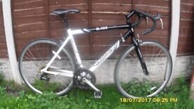 MUDDY FOX 14sp RACING BIKE LIGHTWEIGHT 52cm ALLOY FRAME CLEAN BIKE EVERYTHING WORKING