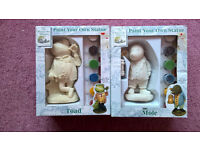 The Wind in the Willows - Paint your own Toad and Mole Kit
