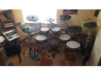 Roland TD 20 + Expansion pack Electric drumkit