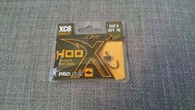 Prologic XC8 Hoox Coated CC83 Carbon Steel Carp Fishing Hooks Size 6