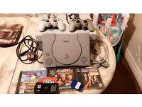 Ps1 with games