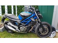 Suzuki gladius 650 for sale 1750 ono
