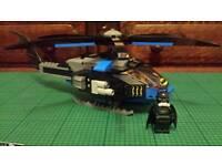 Lego Bat-coptor and Mini figure.