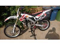 Honda Cr 250 2001 model, motocross, mx