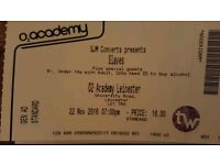 Slaves ticket Leicester