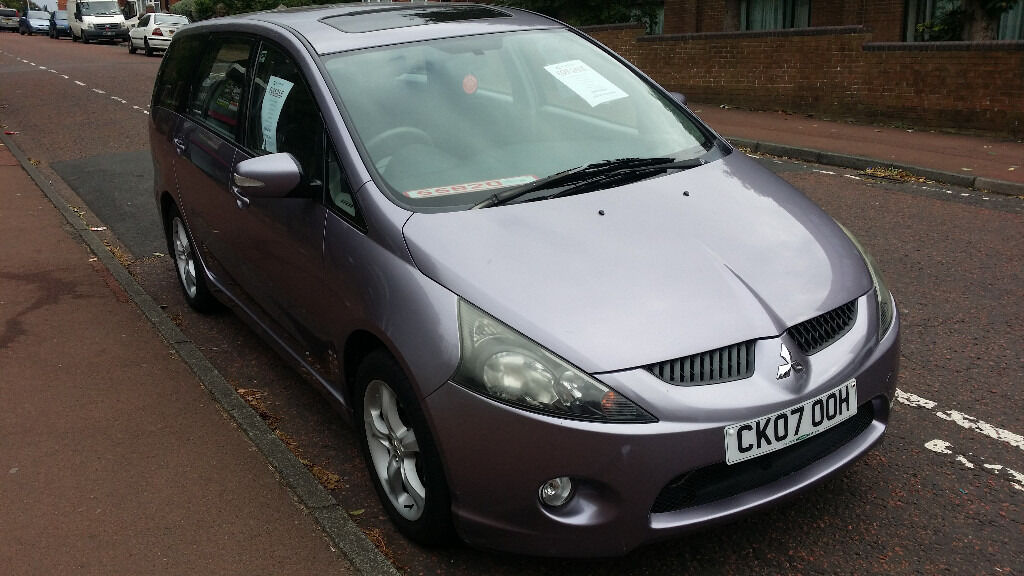 STUNNING - 7 SEATER MITSUBISHI GRANDIS - LOW MILES - FSH - AMAZING CONDITION