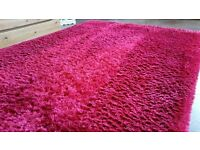 Lovely Dark Pink Rug for Sale