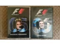 Fernando Alonse DVDs F1 2005 2006