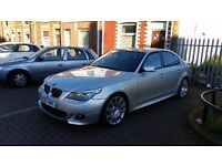 BMW 5 SERIES 3.0 530d M Sport 4dr SAT NAV! LEATHER! BMW FSH!