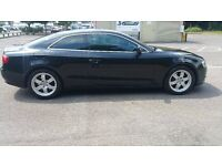 Stunning Audi A5 for sale: Excellent bodywork, Black Full exterior and grey interior - MOT & TAX