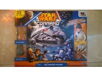 BNIB star wars command millennium falcon set, cheapest available