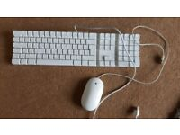 Keyboard and Mouse bundle (wired) Apple