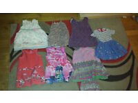 7 dresses for 2 to 3 year old