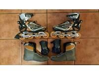Rollerblade Crossfire 4.0 skates Size UK 10