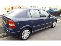 vauxhall astra 1.4 petrol runs well long mot