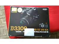 Nikon d3300 brand new and sealed