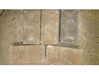 22 Mono block bricks left over from a job. Must go asap. 50p per brick.