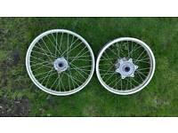 Xr 250 2001 bike Rims