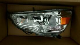 GENUINE MITSUBISHI ASX PASSENGER SIDE XENON HEADLIGHT 8301C881