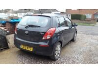 Hyundai i20 style black 1.4l manual - used in great condition 48250 miles
