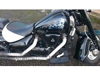 NOT A HARLEY..Suzuki VL1500 1998 one off custom - amazing condition cosmetically and mechanically
