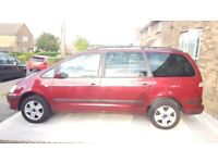 Ford galaxy 2.3 ghia manual 7 seater with android double din stereo