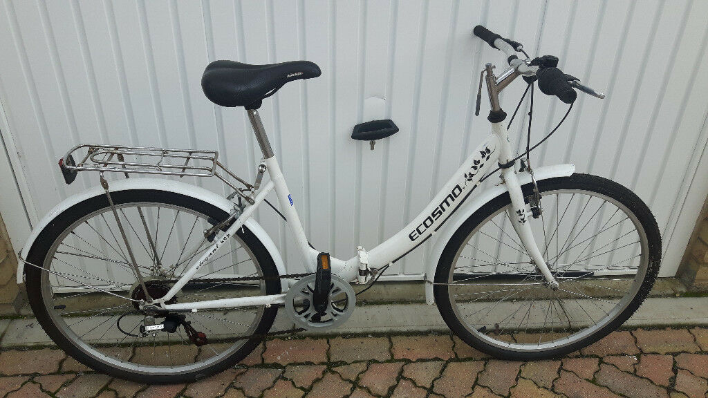 Ladies Ecosmo Folding Bike, in very good condition. £70