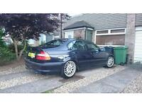 Bmw e46 330i sport saloon, coilovers, manual, black leather