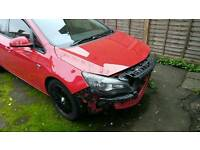 Vauxhall astra unrecorded damage salvage