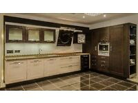 Ex Display - Italian Design Kitchen For Sale - Arrital - Two-tone timber doors, Blum soft close.