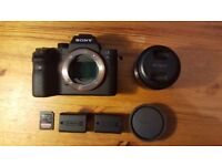 Sony Alpha A7S II Mirrorless 4k Full Frame - Mint condition - LENS + SanDisk !! 2 Years Warranty !!