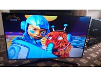 """SAMSUNG 40"""" LED TV FREEVIEW HD/MEDIA PLAYER/GAME MODE/2015 MODEL IN MINT CONDITION"""
