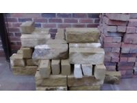 building walling stone cut too size over half pallet