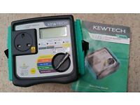START YOUR OWN BUSINESS P.A.T TESTING KEWTECH KT71 PORTABLE APPLIANCE TESTER LOTS OF EXTRAS
