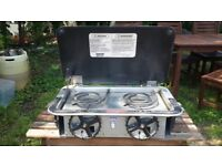 Kenyon Marine Stove for boats - Dual fuel electric / alcohol - 2 burner