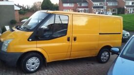 FORD TRANSIT PANAL VAN 2007 .GOOD RUNNER -NEEDS A BIT OF ATTENTION .ENGINE RUNS WELL .