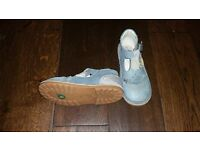 Girl's Shoes - Blue Kickers' - UK Size 11, EUR Size 30