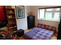 Double room for single occupancy in a shared house in North Watford