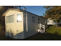 6 Berth Holiday Caravan for sale on prestigious Shorefield Country park, Dorset.£10,995