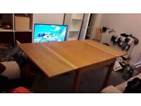 Extendable Dining Table & Two Chairs(Must Collect)