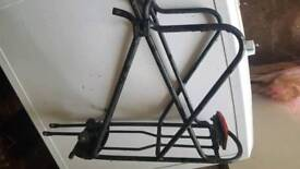 Back Rack for Bike/Cycle Interchange with rear light plate