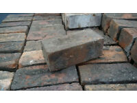 Free reclaimed rustic bricks - red